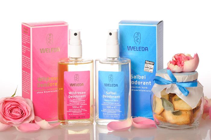 Органические новости: натуральные дезодоранты с розой и шалфеем от Weleda