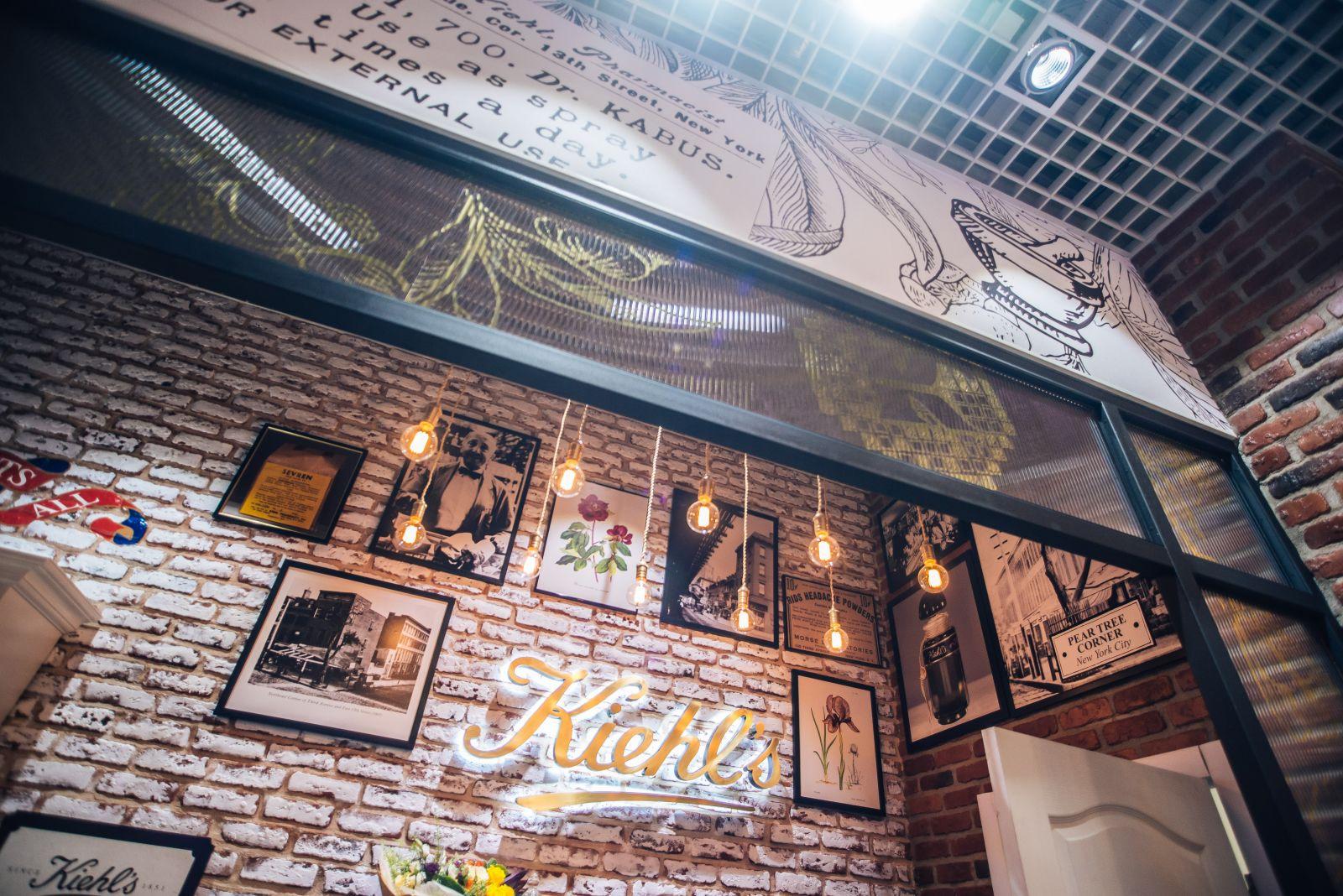Как это было: грандизное открытие первого бутика Kiehl's в Украине