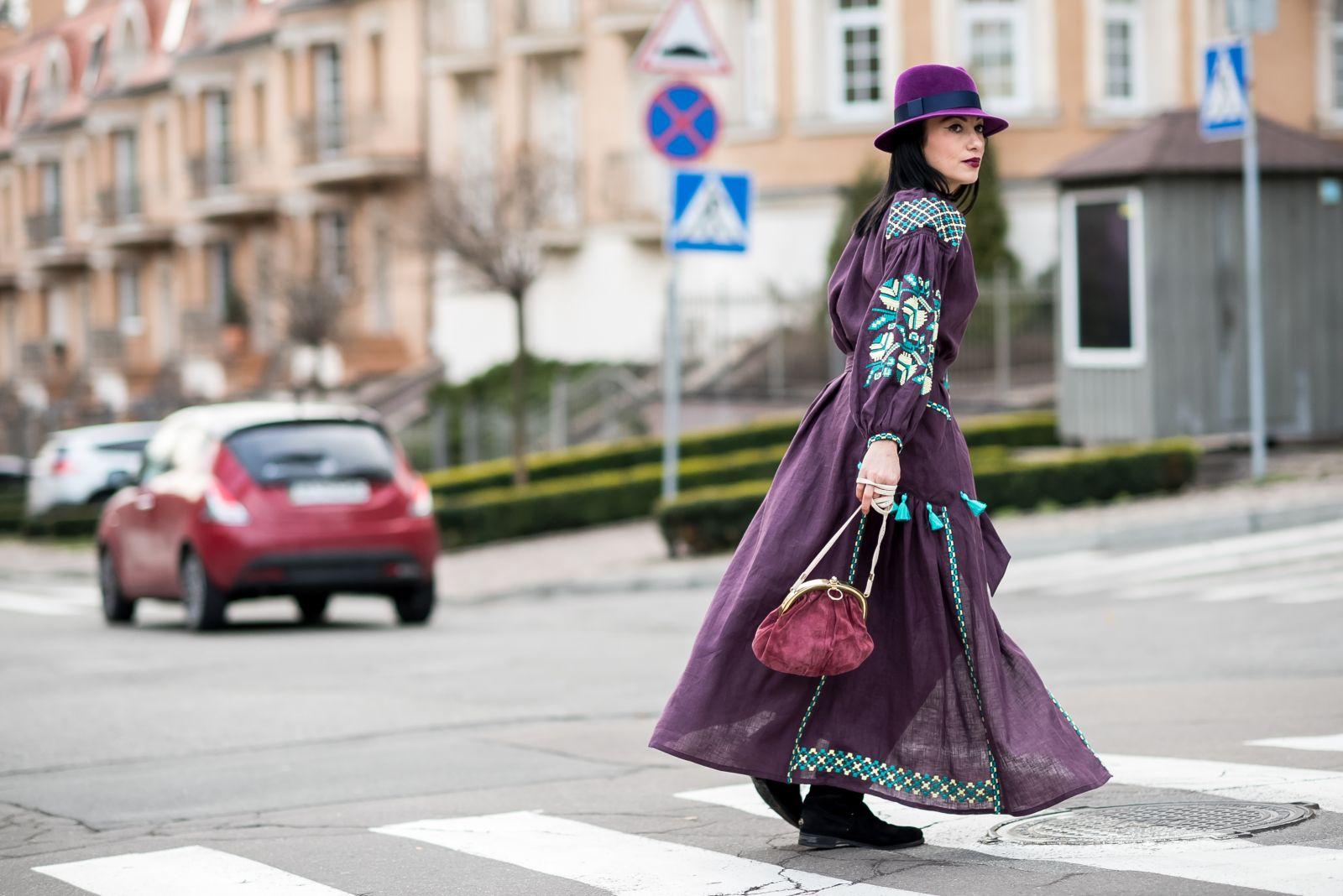 Наряд ко Деню Независимости: украинская топ-модель Алла Григорьева представила коллекцию вышиванок