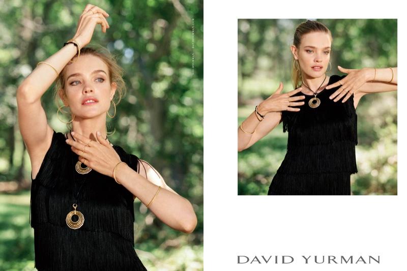 Наталья Водянова снялась в элегантной фотосессии для ювелирного Дома моды David Yurman (ФОТО)