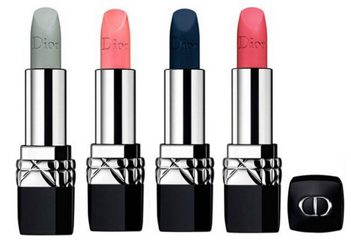 Внезапно  Dior выпустили матовые помады Rouge Dior Matte в необычных  оттенках da4c4be11b3