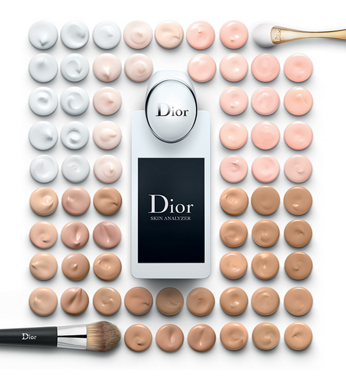 Dior Skin Analyser сканер кожи