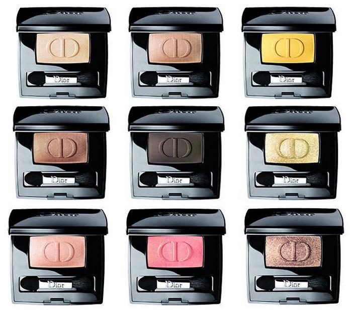 Это лето: Dior выпустили новую линию моно-теней Diorshow Mono Summer 2016