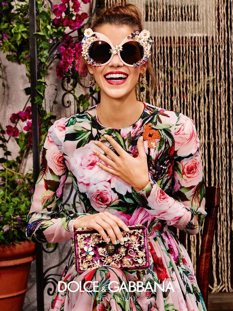 Носи, смотри, люби: рекламная компания коллекции солнцезащитных очков от Dolce and Gabbana