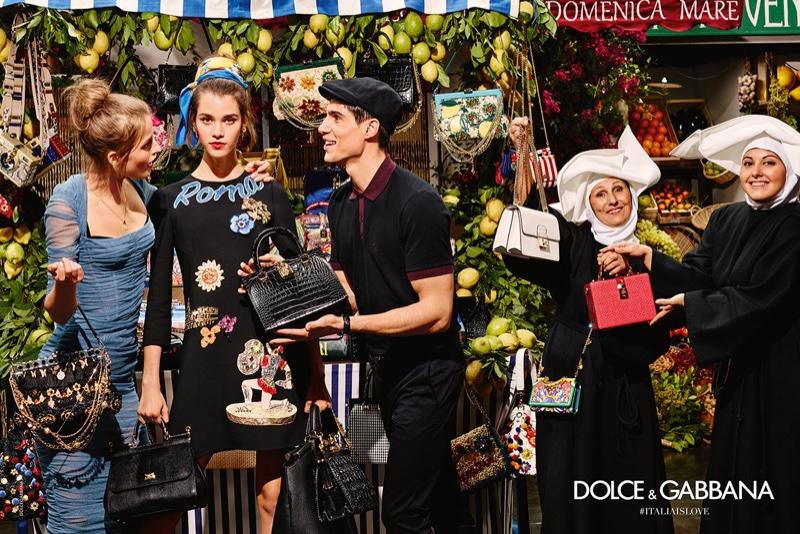 Курс на весну: невероятно сочная рекламная кампания Dolce and Gabbana ss2016
