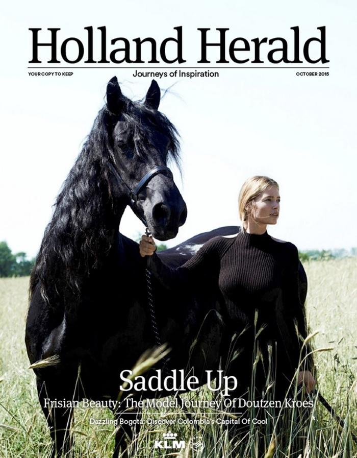 Красота от природы: Дауцен Крез в съемке для Holland Herald