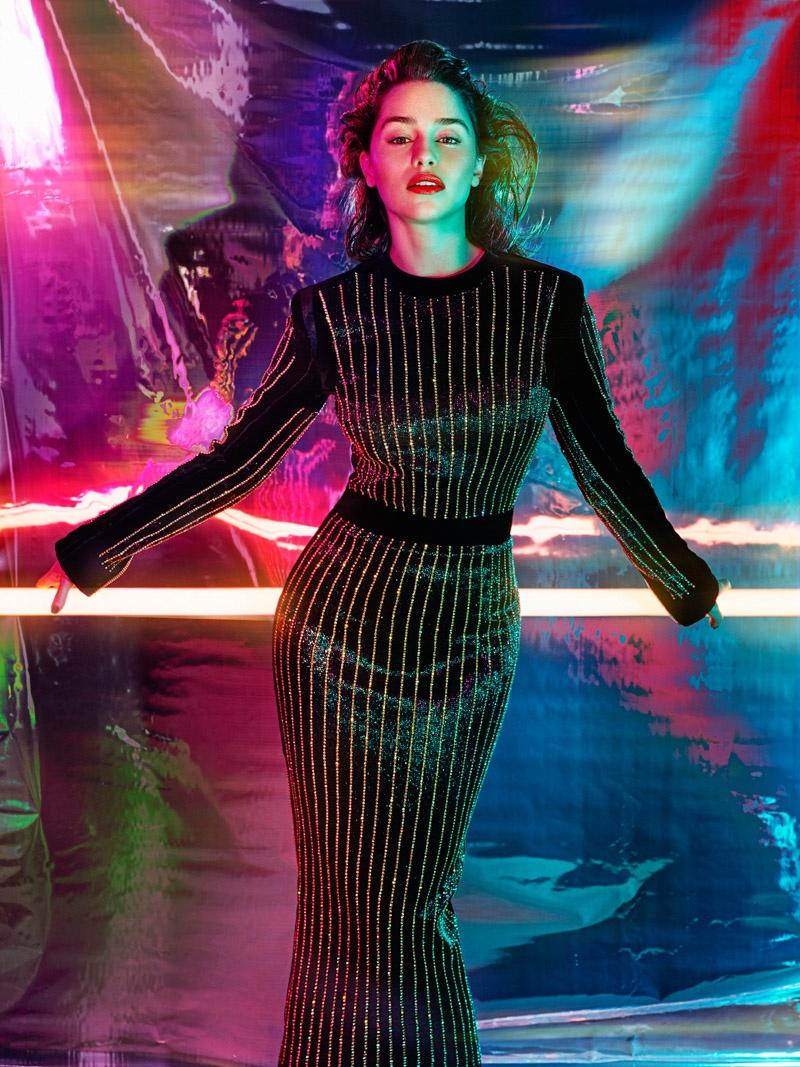 Эмилия Кларк в шикарном образе для GQ UK