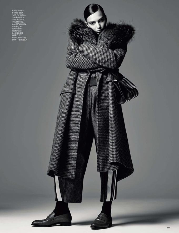 новая фотосессия Эмили Ратаковски для LOVE Magazine (ФОТО)