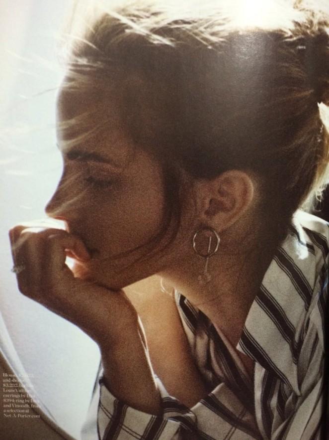Важно о сложном: артхаусная Эмма Уотсон снялась для PORTER magazine и рассказала о феминизме