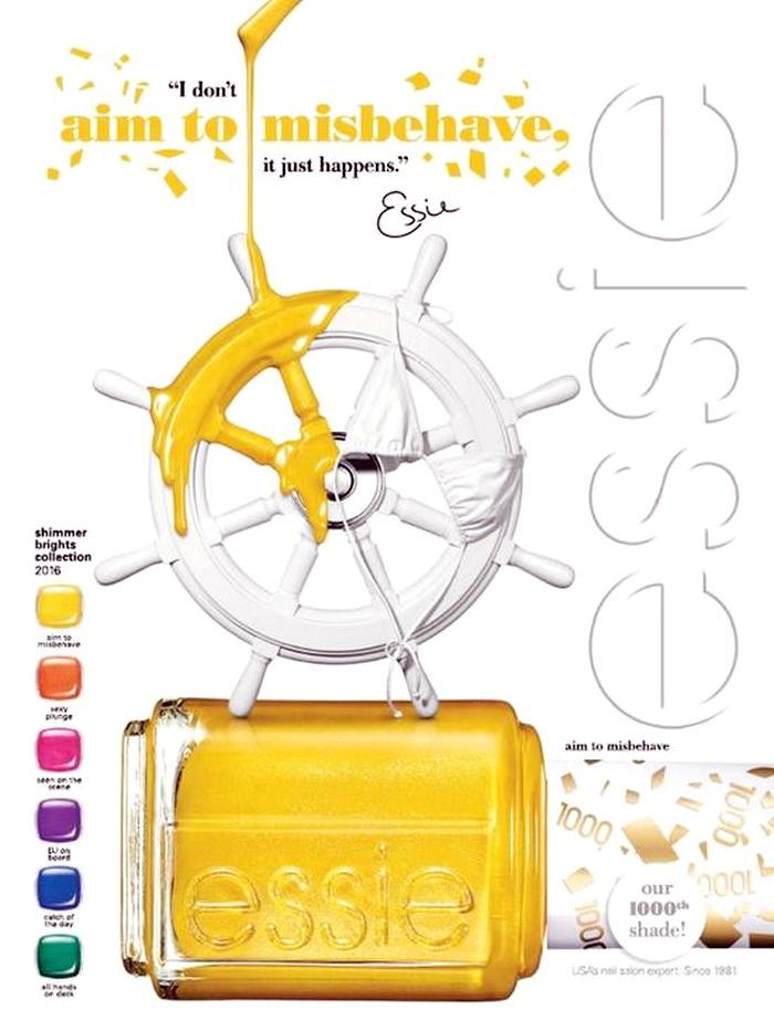 Канарейка: новая коллекция лаков Essie лето 2016 с юбилейным желтым оттенком