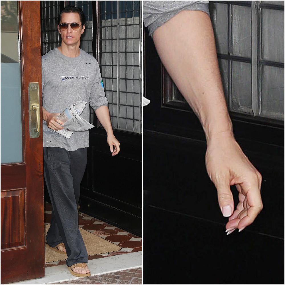 Как у орла: Мэттью Макконахи отрастил длиннющие ногти