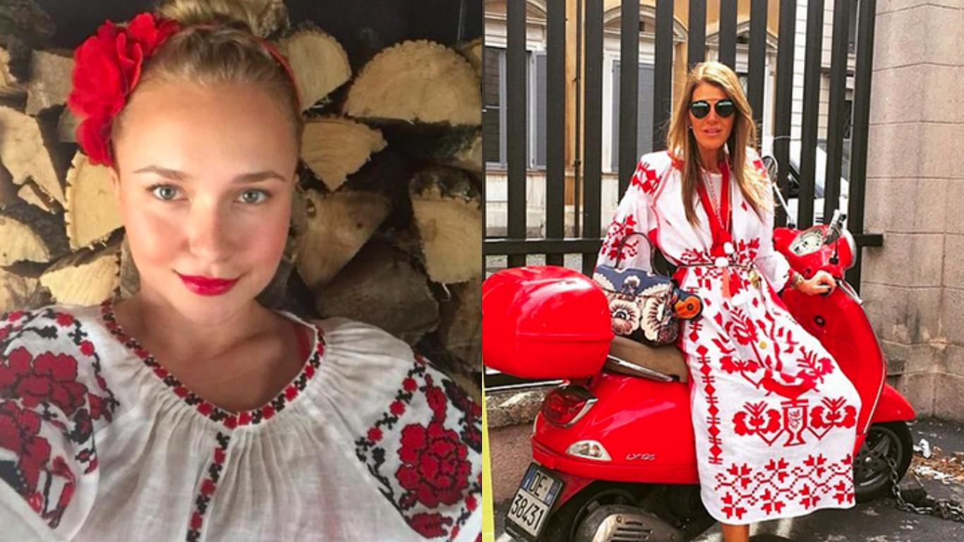 Made in Ukraine: Западные звезды в нарядах украинских дизайнеров (AJNJ)
