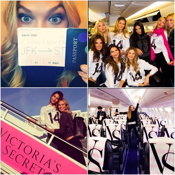 Встречай, Ангелы Victoria's Secret  в Лондоне!