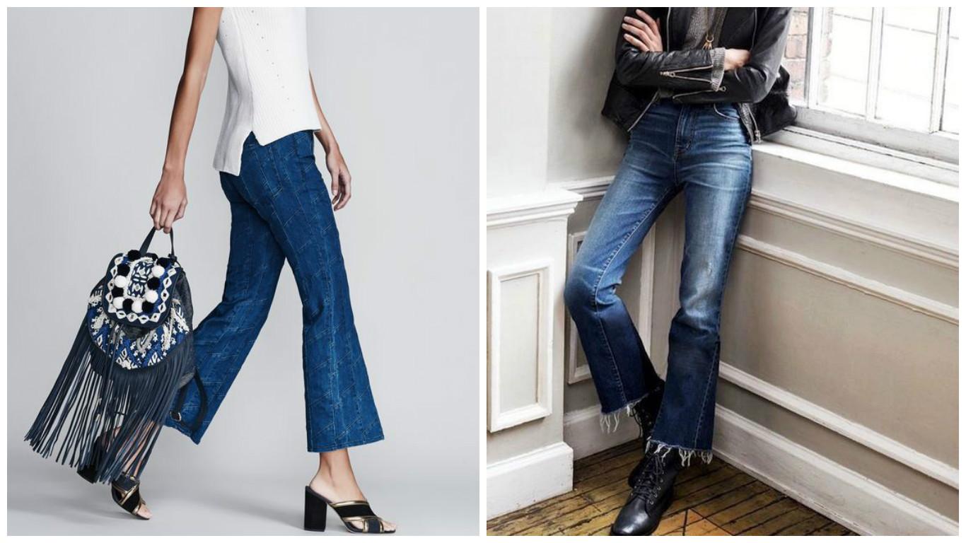 Гид по стилю: самые модные джинсы сезона весна-лето 2016 фото