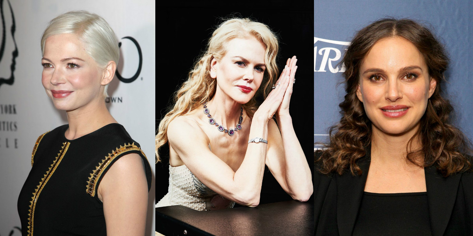 Бьюти-образы недели: Естественный макияж Мишель Уильямс, локоны Натали Портман и другие (ФОТО)