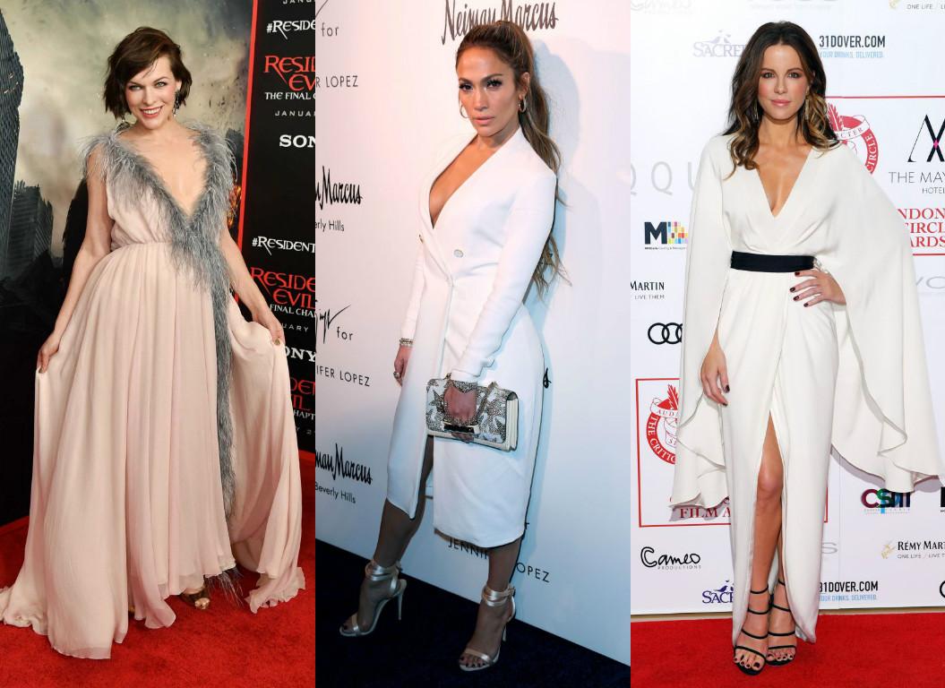Самые стильные звезды недели: Милла Йовович в розовом платье, Дженнифер Лопес, Ким Кардашьян и другие Дженнифер Лопес, Ким Кардашьян фото