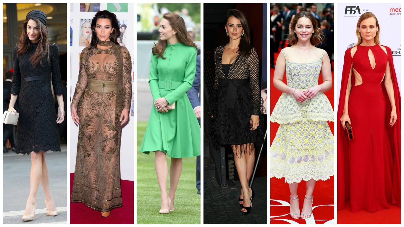 Самые стильные звезды недели: Пенелопа Крус, Кейт Миддлтон, Амаль Клуни и другие