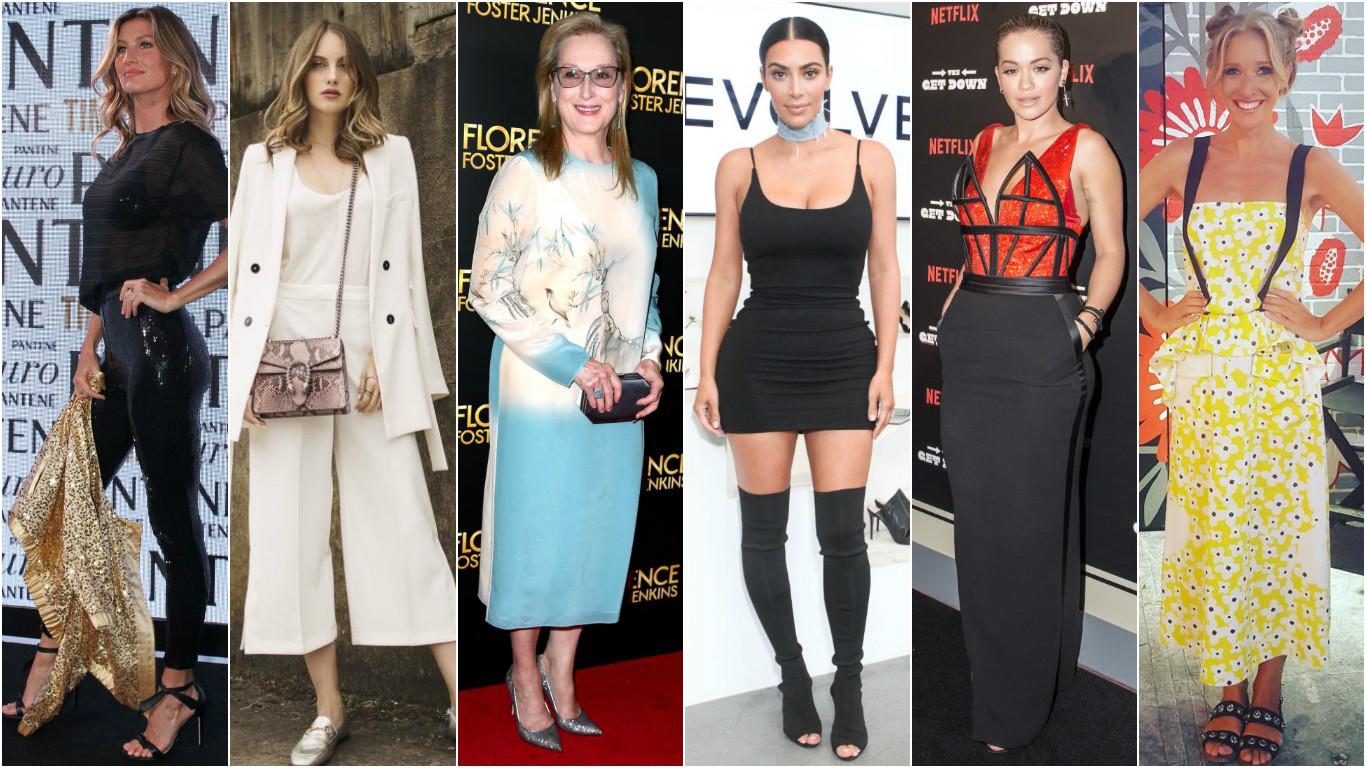 Самые стильные звезды недели: Катя Осадчая, Ксения Собчак, Ким Кардашьян и другие