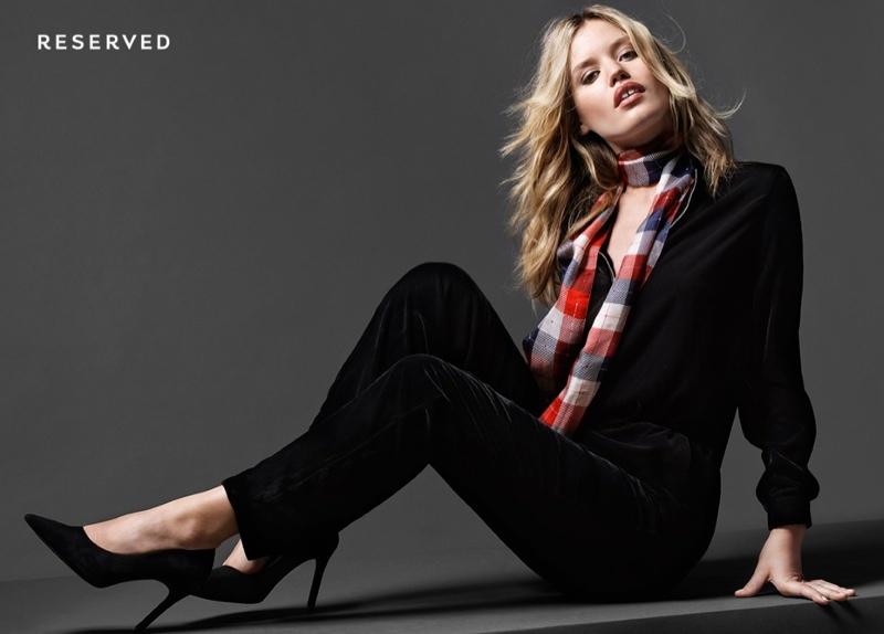 Reserved, дружба, жвачка: фотосессия Джорджии Мэй Джаггер для специальной коллекции польского бренда