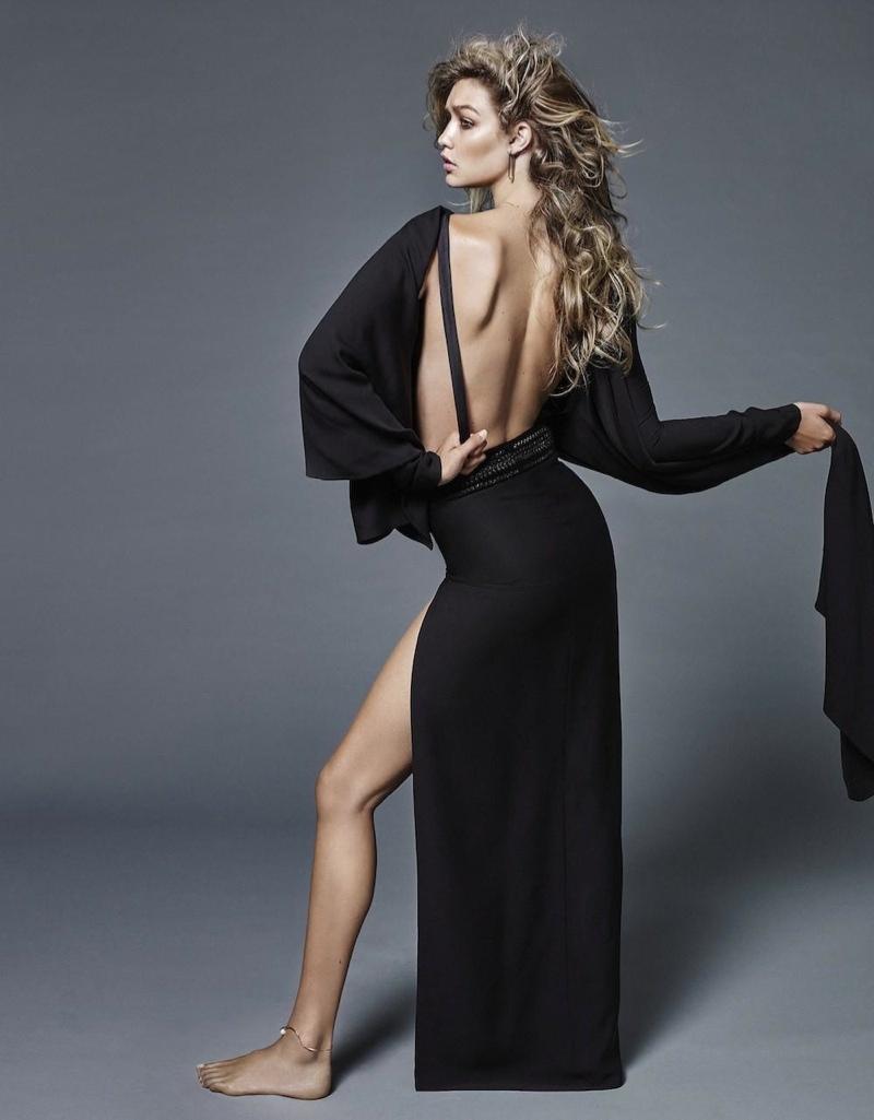 Джиджи Хадид в ноябрьском Vogue Netherlands