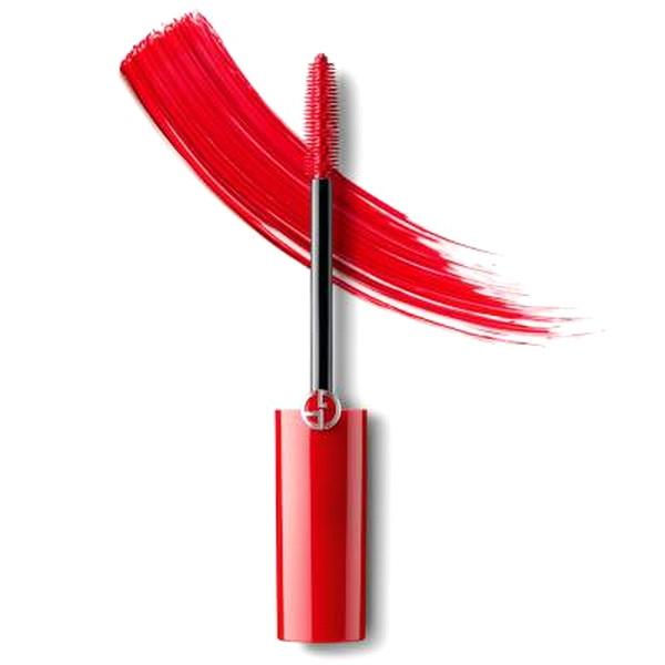 Ну же, смелее: новая тушь красного цвета Giorgio Armani и другие продукты для глаз