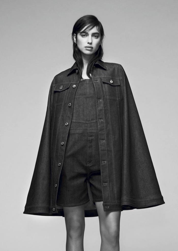 Джентльвумен: Ирина Шейк демонстрирует pre-fall коллекцию Givenchy фото