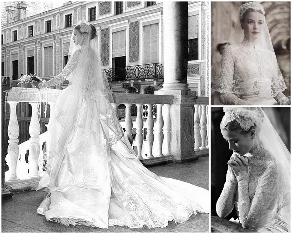 Самые стильные свадебные платья звезд всех