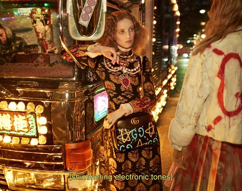 Gucci осень-зима 2016 коллекция фото