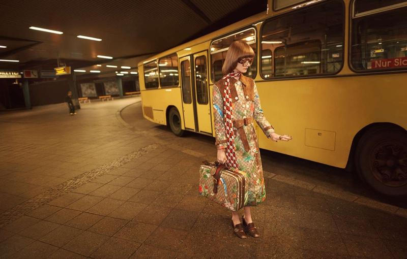 Машина времени: первый взгляд на рекламную кампанию Gucci весна-лето 2016