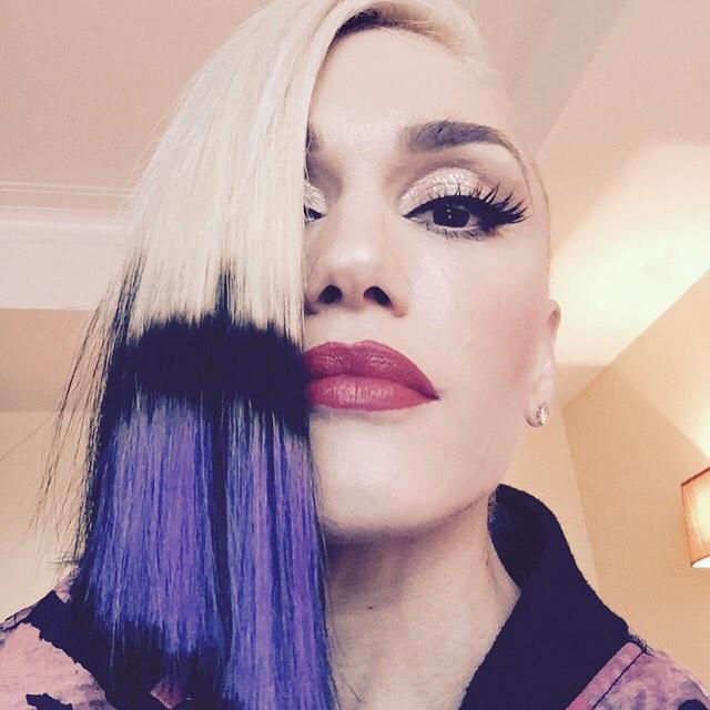 Rock chic: Гвен Стефани снова экспериментирует с имиджем фото