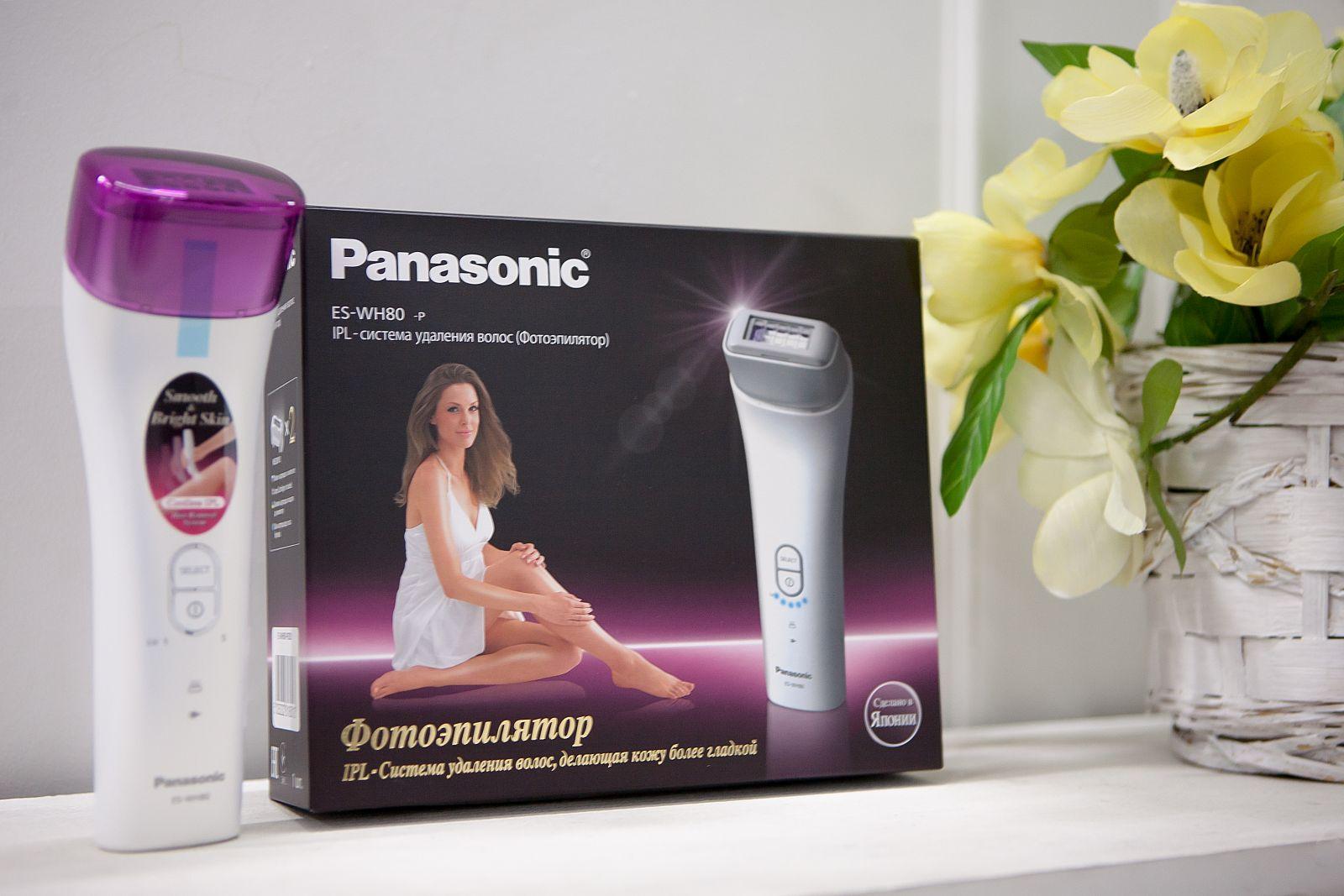фотоэпилятор ES-WH80 Panasonic