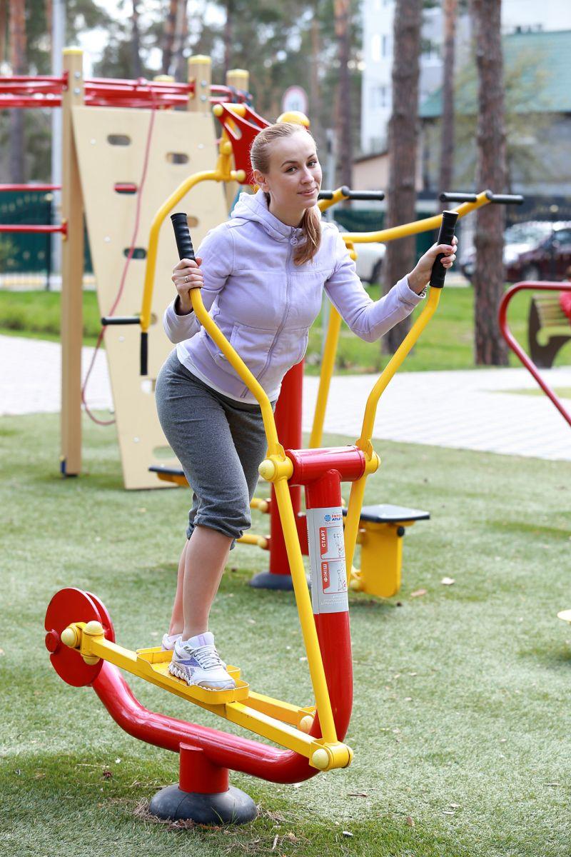 уличные тренажеры как заниматься и комплекс упражнений