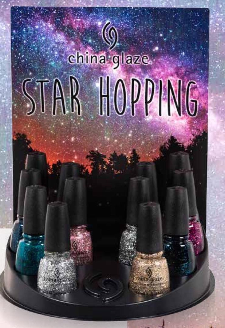 Рождественская звезда: праздничная коллекция лаков Star Hopping от China Glaze