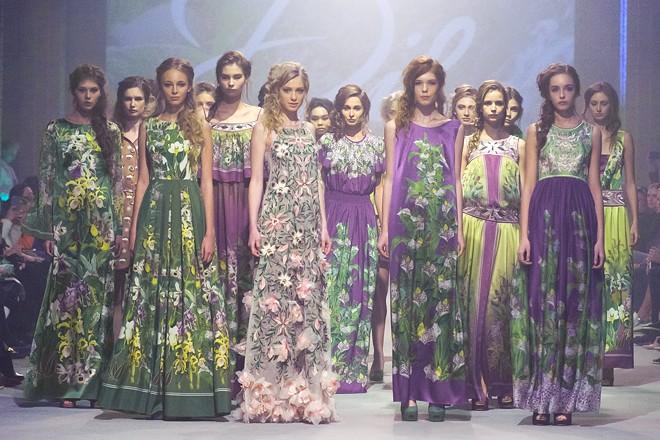 Коллекция бренда IRYNA DIL' весна-лето 2016
