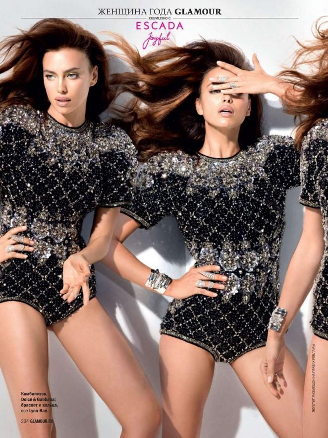 «Женщина года 2014», российская модель Ирина Шейк, стала главной героиней свежего выпуска журнала Glamour