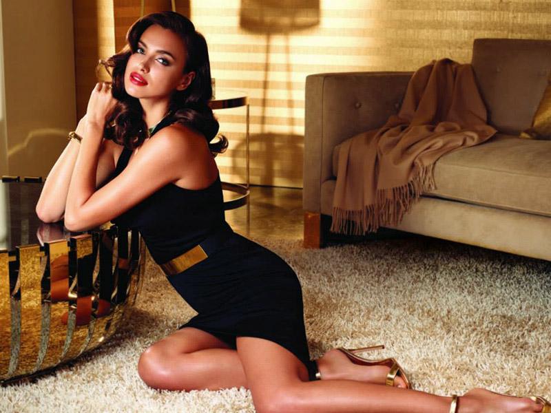образ Ирины Шейк для рекламной кампании нового аромата от Avon