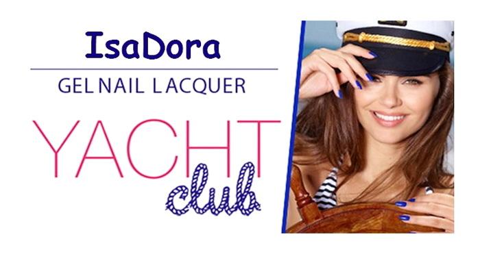 весенне-летняя коллекция лаков Yacht Club Nail от Isadora