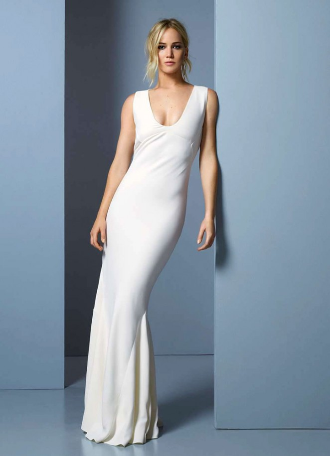 Полная версия: роскошная фотосессия Дженнифер Лоуренс для Elle France