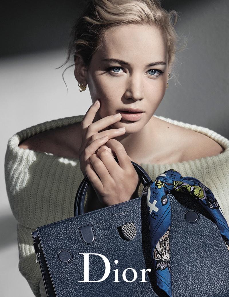 Дженнифер Лоуренс блеснула красотой в рекламе Dior (ФОТО)
