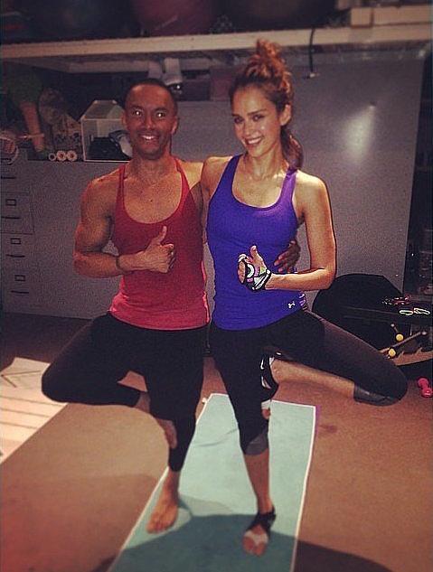 Джессика Альба делится спортивными успехами в Instagram