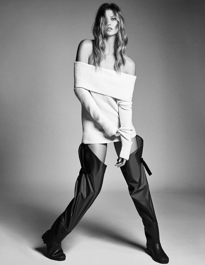 Шик и стиль: Карли Клосс позирует для корейского глянца W (ФОТО)