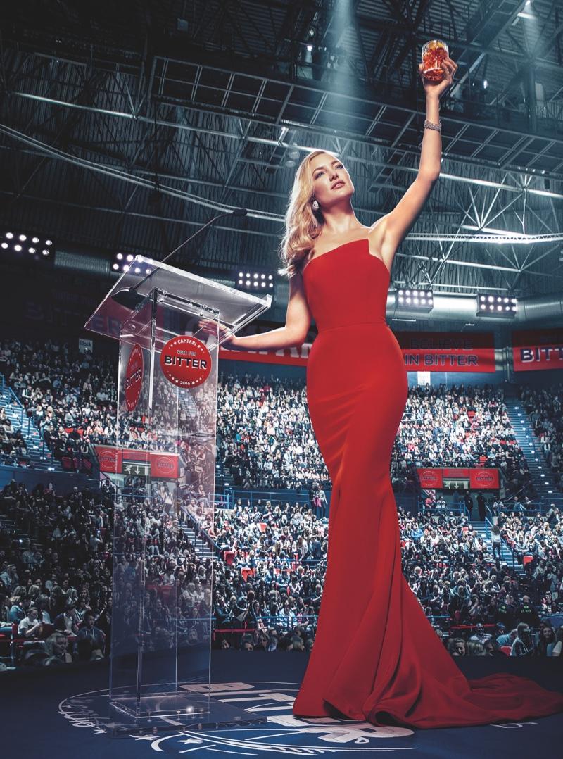 И сладко, и горько: роскошная Кейт Хадсон в календаре Campari