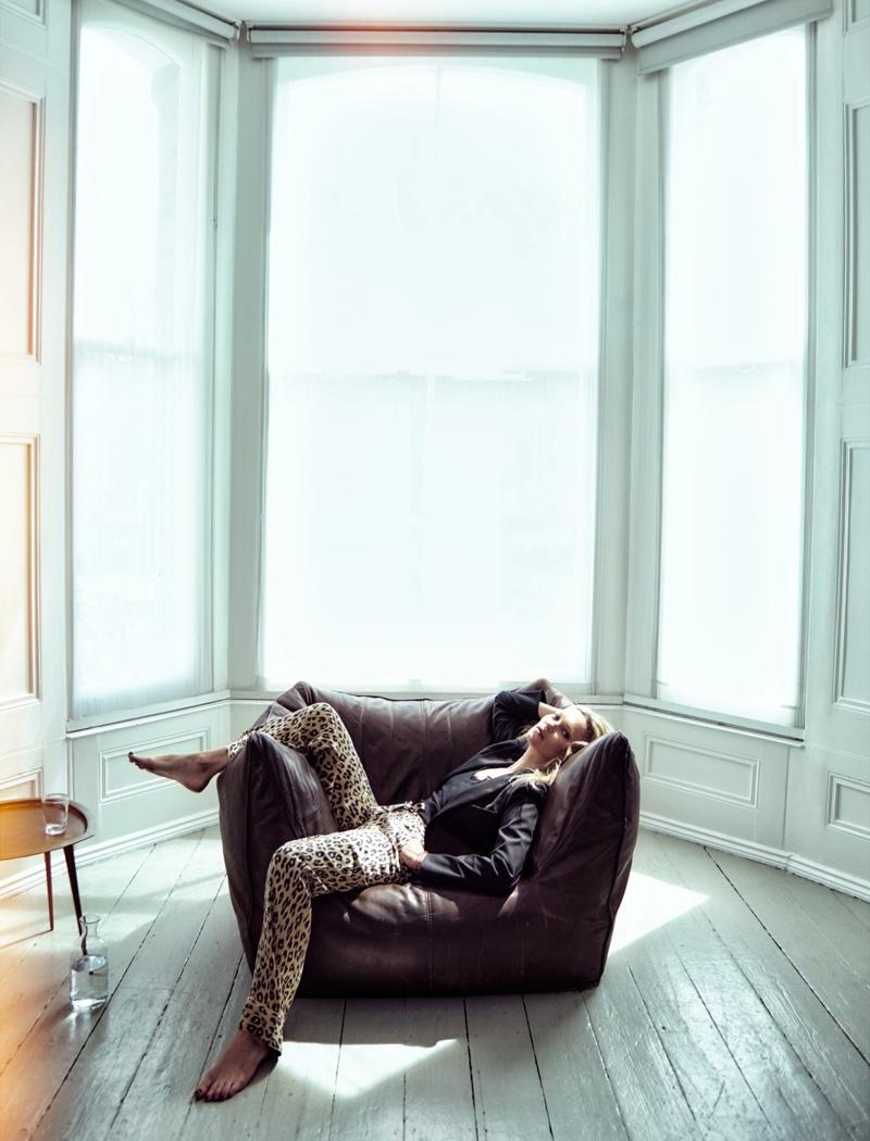 Дама в леопардах: Кейт Мосс хвастается своей первой коллекцией одежды фото