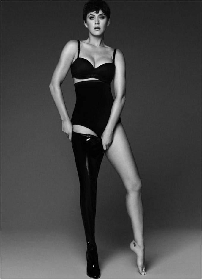 Харизматичная Кэти Перри появилась на обложке гламурного издания