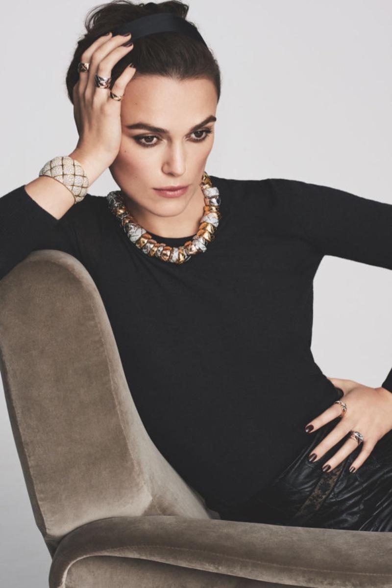 Кира Найтли рекламирует драгоценности Chanel фото