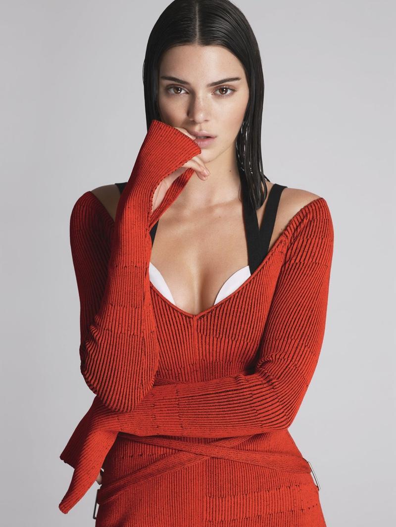 Кружева и бахрома: Кендалл Дженнер на обложке сентябрьского Vogue