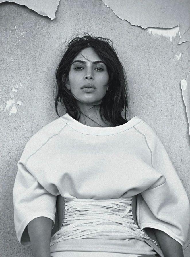 Ким Кардашьян Vogue Australia 2016 фото
