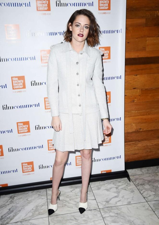 Двойной образ дня: Кристен Стюарт радует элегантностью на вечере Film Society и шоу Jimmy Fallon