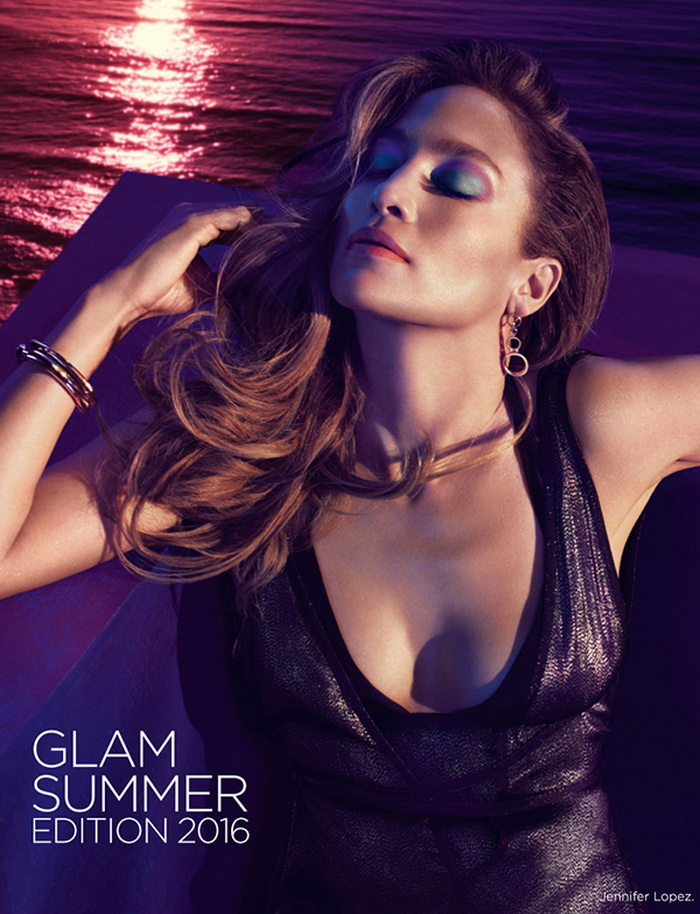 Новый спектр: Дженнифер Лопес представляет новую коллекцию макияжа Summer Glam от LOreal