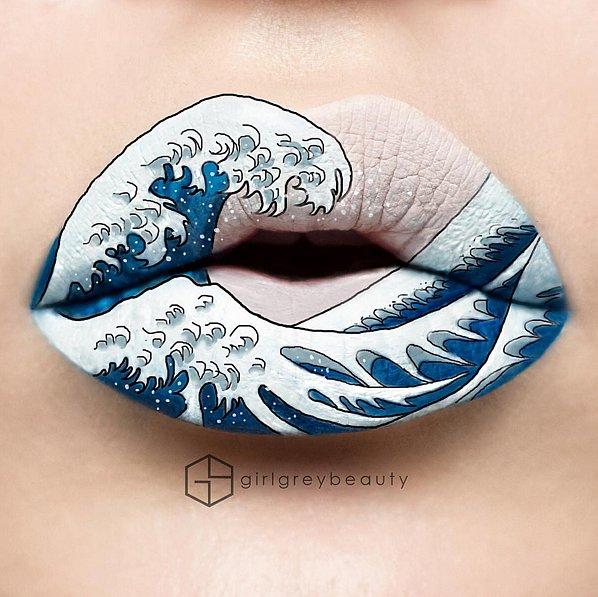 Губы как искусство: девушка из Канады создает на губах нереально красивые рисунки